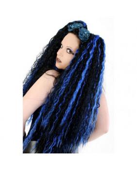 Rajout Zeena blue goth