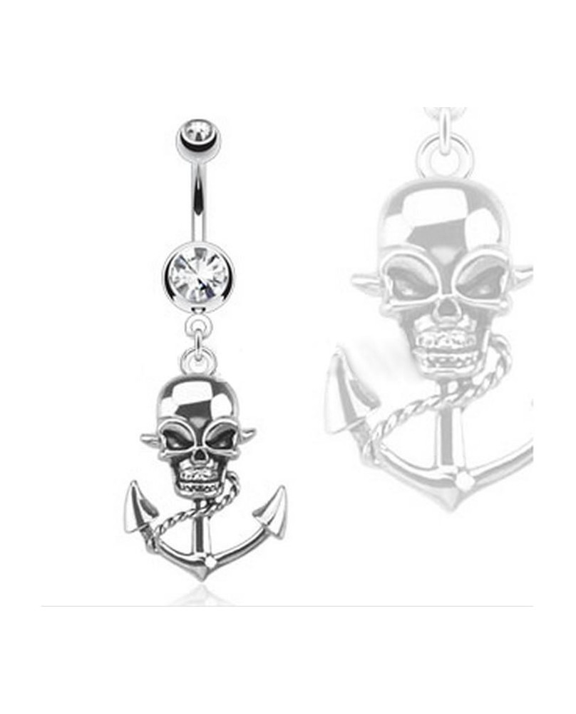 Piercing de nombril pirate