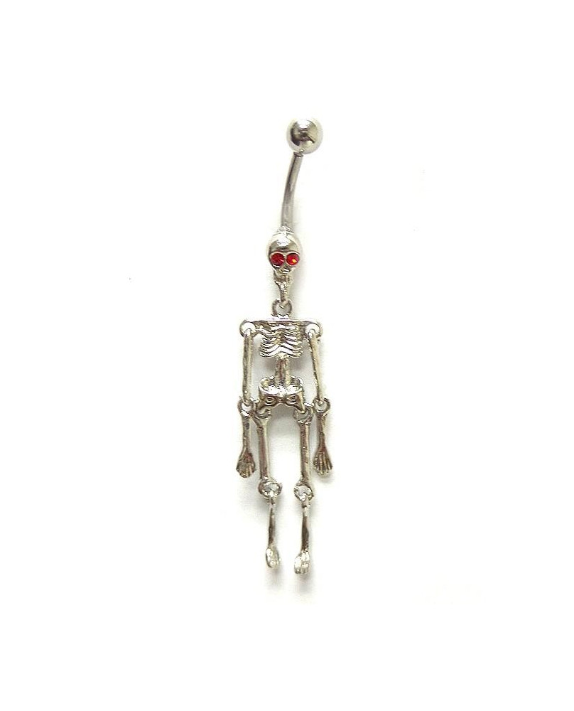 Piercing de nombril squelettor