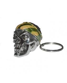 Porte clefs Tête de mort pirate