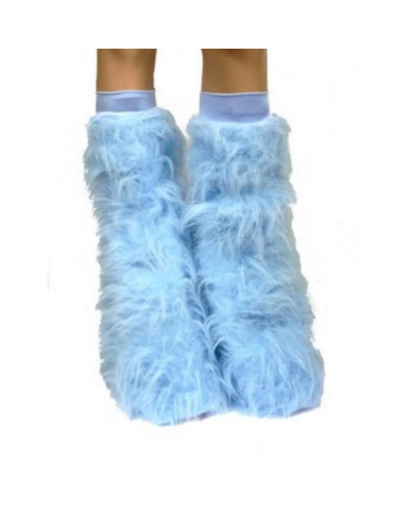 Leg warmes cyber gothique bleu ciel