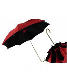Parapluie gothique rouge