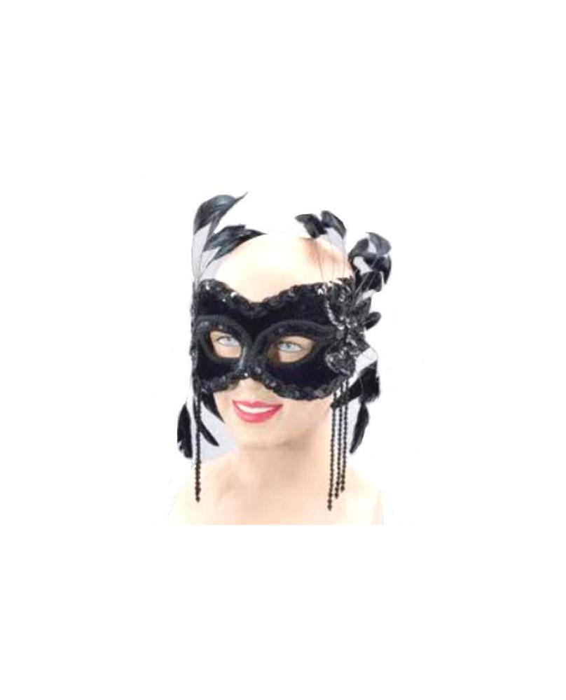 Masque gothique Black Velvet