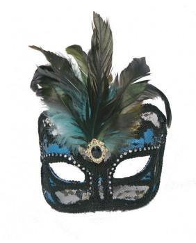 Masque gothique bleu ACMA26
