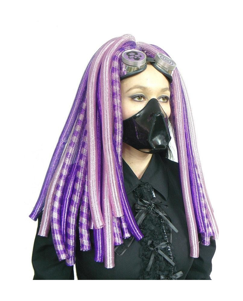 Rajout cyber goth rose clair / violet