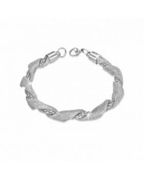 Bracelet acier tressé