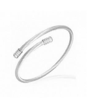 Bracelet cable acier