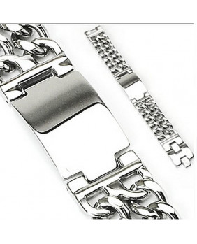 Bracelet chaîne duo