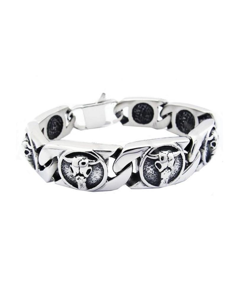 Bracelet métalleux