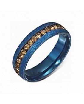 Bague bleue