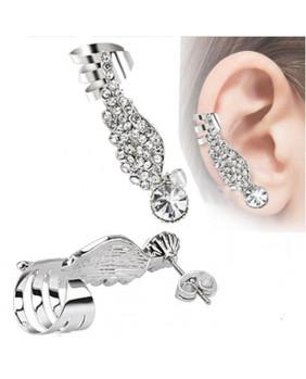 Bijoux d'oreille aile angel gauche