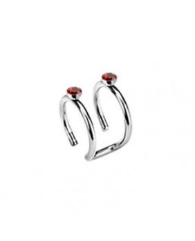 Bijoux d'oreille duo Red