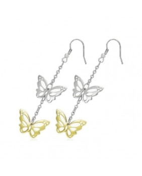 Boucles d'oreilles Stainless Steel Papillons