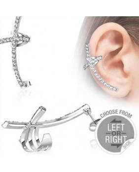 Bijoux d'oreille gohique droit