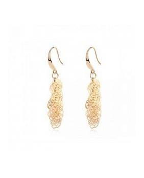 Bijoux d'oreille plaqué or