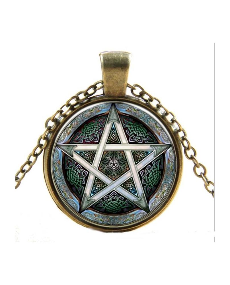 Collier pagan Magical Pantacle