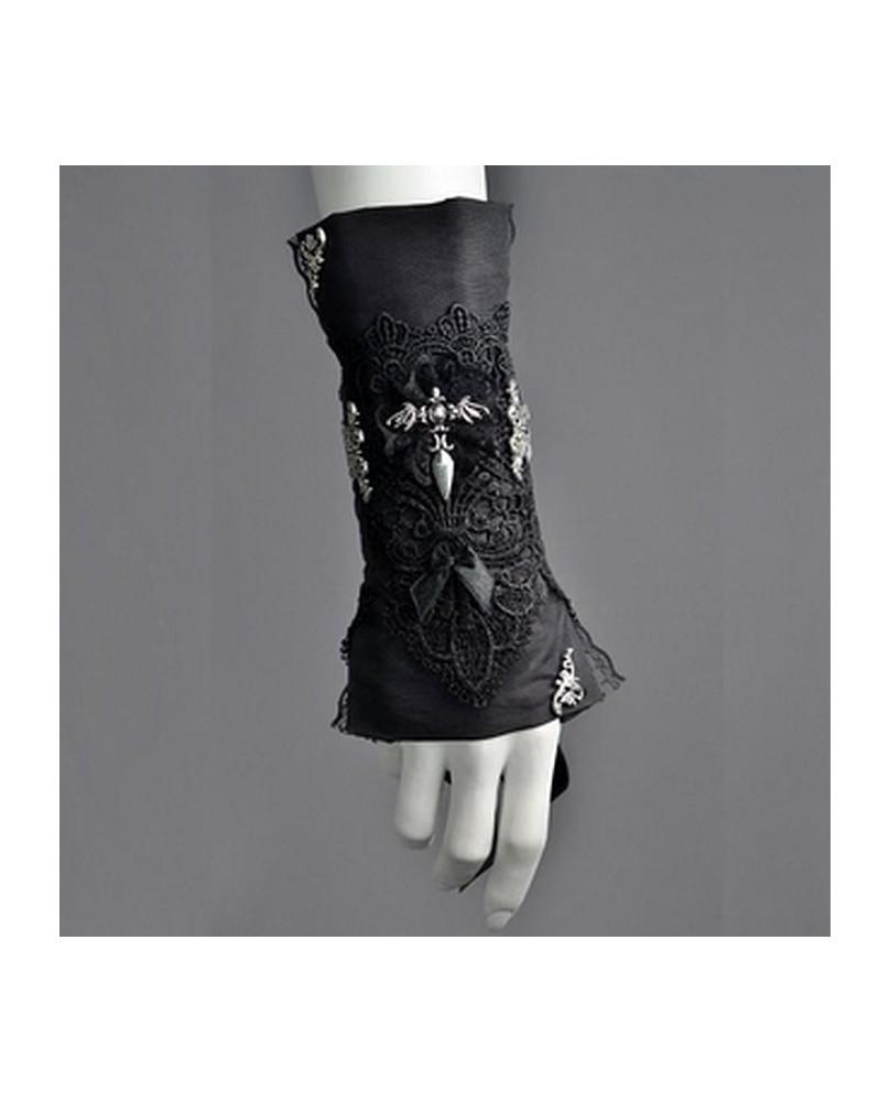 Bracelet gothique long dague
