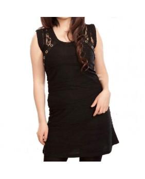 Robe noire gothique Tina