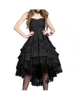 Robe noire Gothic Noble