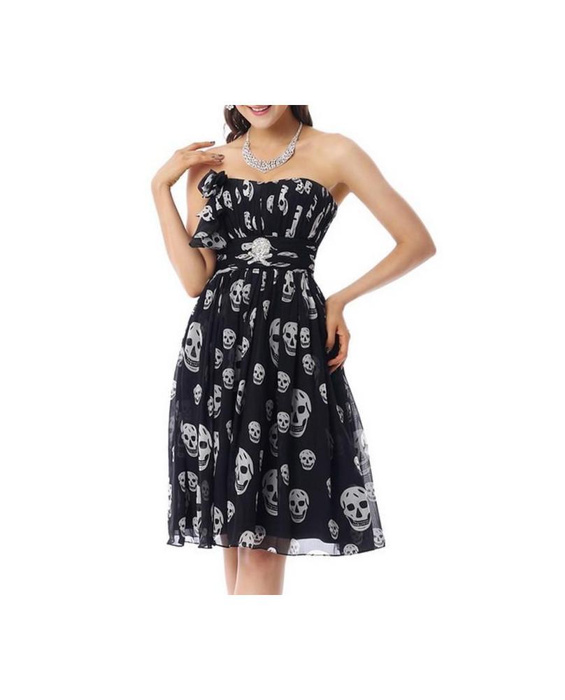 Robe de soirée gothique rock Prom Dress