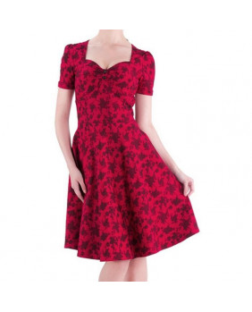 Robe rockabilly Red Roses