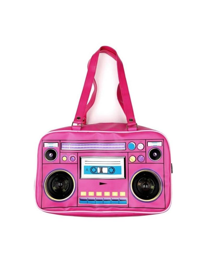 Sac emo gothique Pink Radio