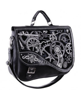 Sac Steampunk Black Mechanism