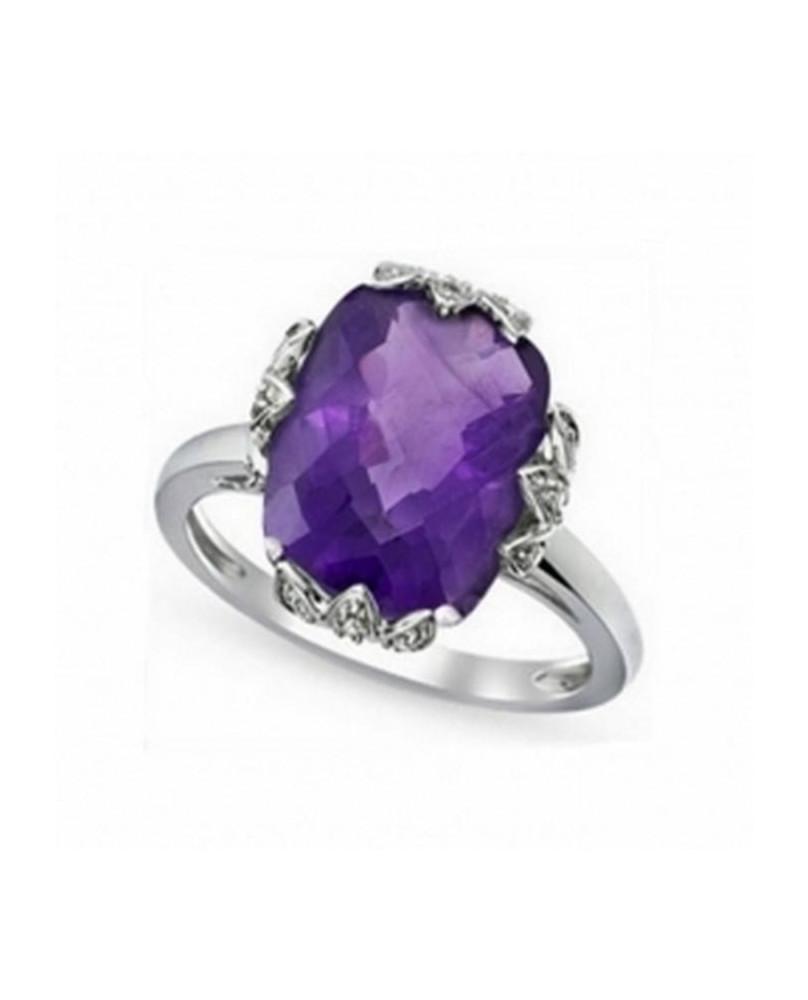 Bague gothic violette