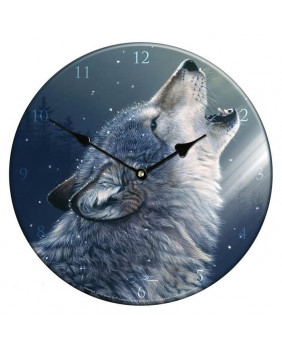 Horloge loup Ascending Song