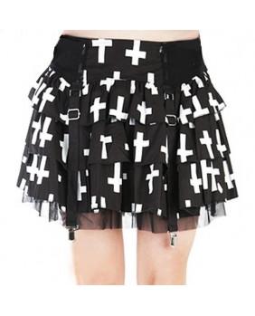 Jupe gothique Cross Show Down