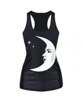 Débardeur gothique Woman Moon