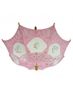 Mini ombrelles gothique rose