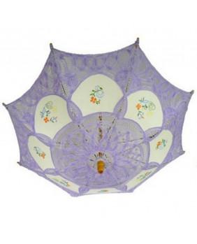 Mini ombrelles gothique violette