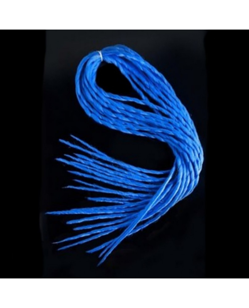 Lot de dreads bleues