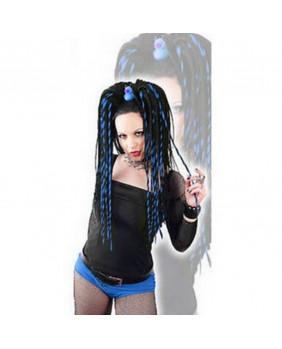 Rajout gothiqueTwisted bleu