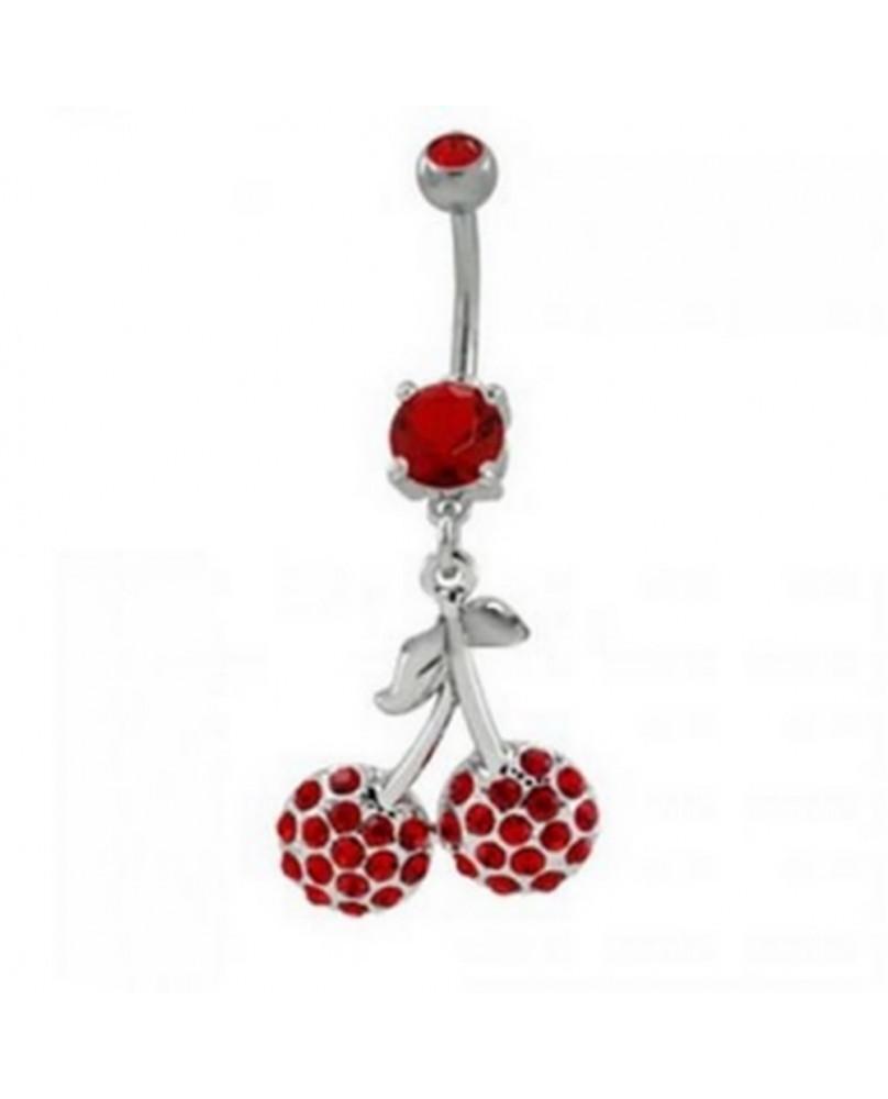 Piercing rock punk Red Cherry