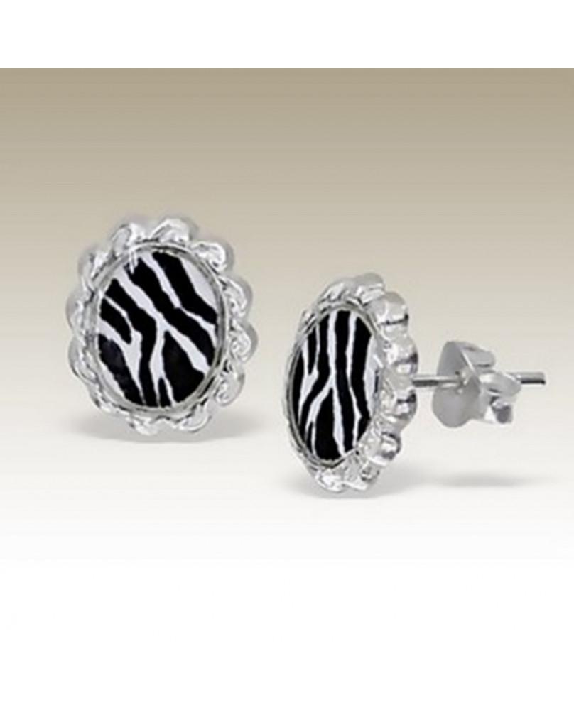 Studs camée zebra