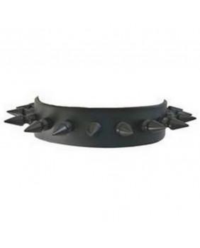 Tour de cou gothique pics noirs CK105BS