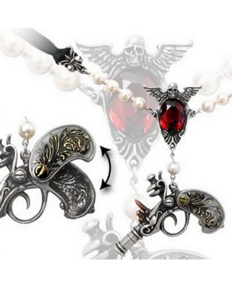 Collier gothique Sovay Locket