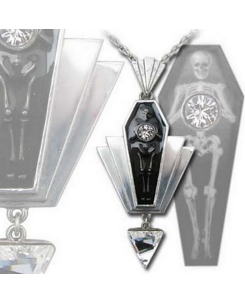 Collier gothique Coco Casket Jewel P613