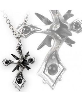 Pendentif gothique Caltrop Cross
