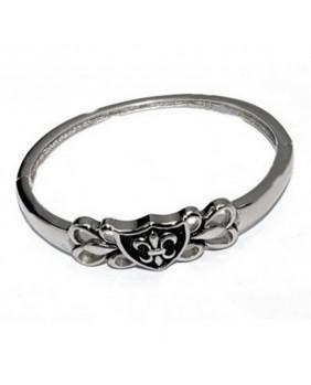 Bracelet stainless steel fleur de lys