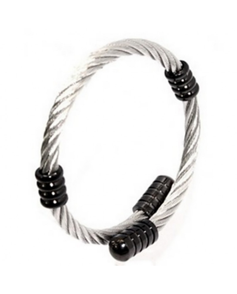 Bracelet cable stainless steel