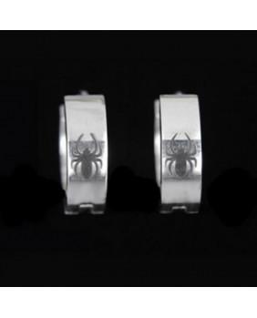 Boucle d'oreille gothic Spider EDE008