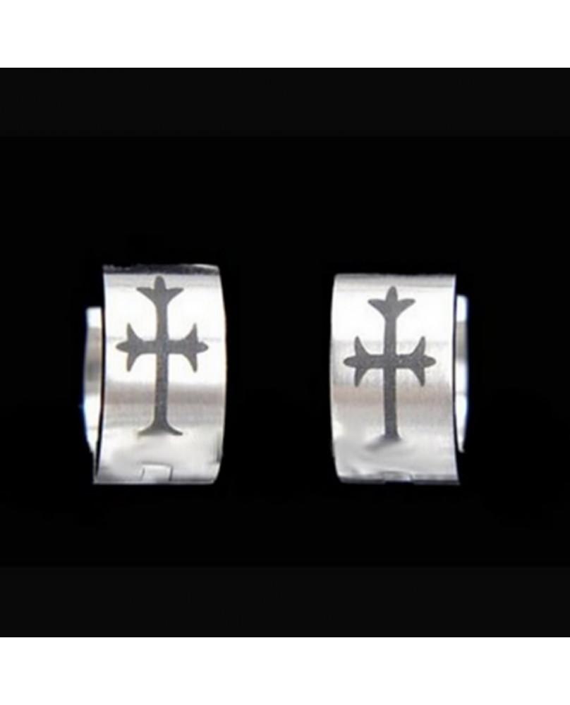 Boucle d'oreilles Cross EDE006