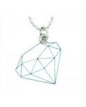 Pendentif Diamant blanc