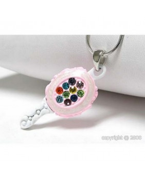Collier pendentif Lolita mini miroir