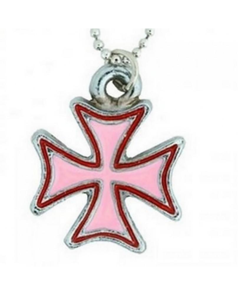 Pendentif croix de malte