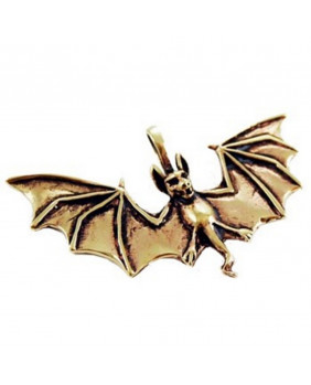 Pendentif gothique Bat bronze