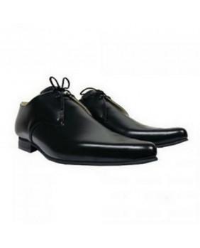 Chaussures noires cuir NEVERMIND 7006BLK/GLACE